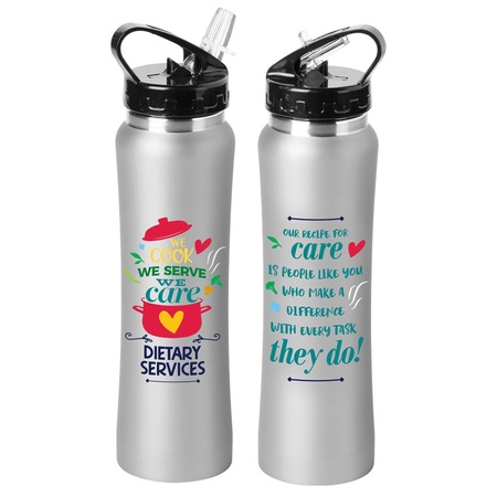 Dietary Services Stainless Steel Water Bottle Gifts