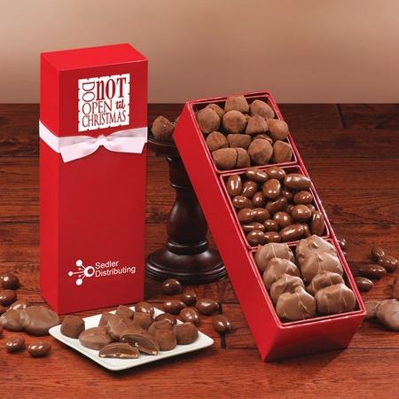 Do Not Open 'til Christmas Chocolate Assortment