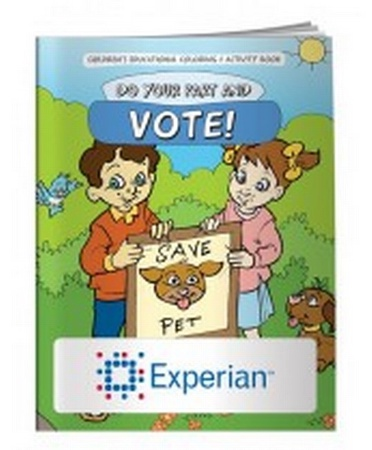 Do Your Part & Vote Coloring Book