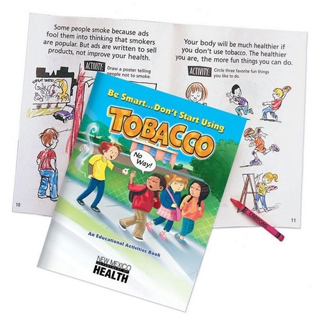 Don't Start Using Tobacco Educational Activities Books