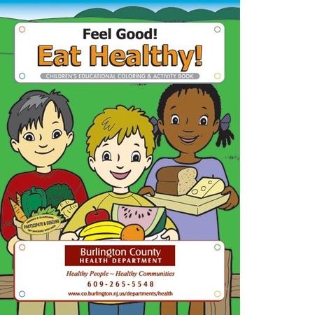 Eat Healthy Coloring & Activity Book