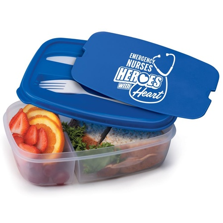 Emergency Nurses 2-Section Meal Container Gifts