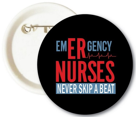 Emergency Nurses Buttons