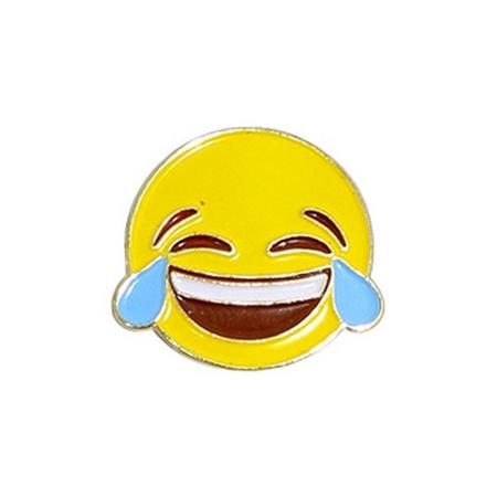 Emoji LOL Lapel Pin