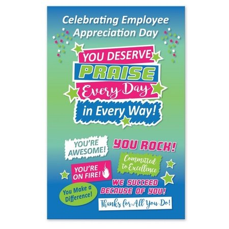 Employee Appreciation Day Praise Posters