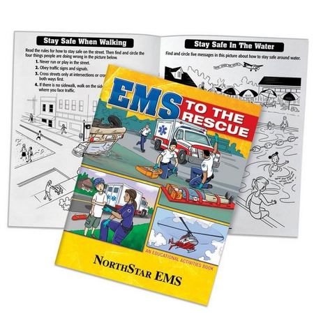 EMS To The Rescue Educational Activities Book