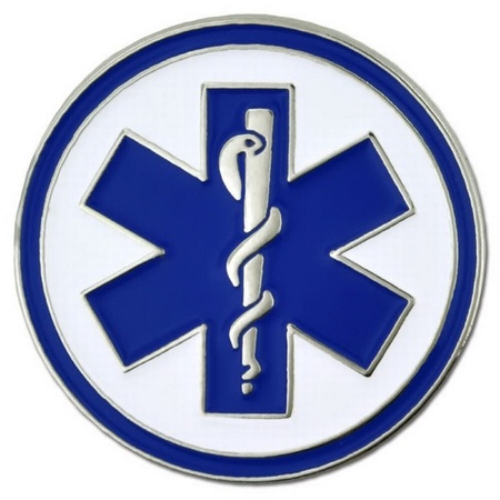EMT Medical Lapel Pin