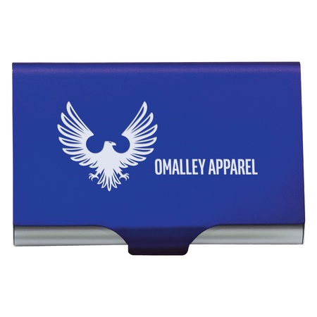 Engraved 2 In 1 Key Tag & Business Card Holder