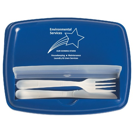 Environmental Services 3 Section Lunch Container