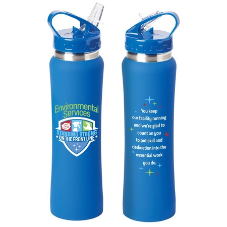 Environmental Services Stainless Steel Water Bottle
