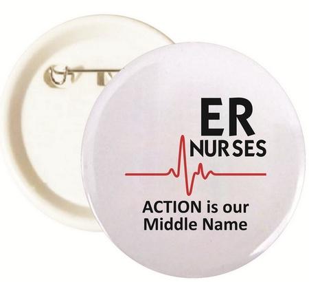 ER Nurses Buttons