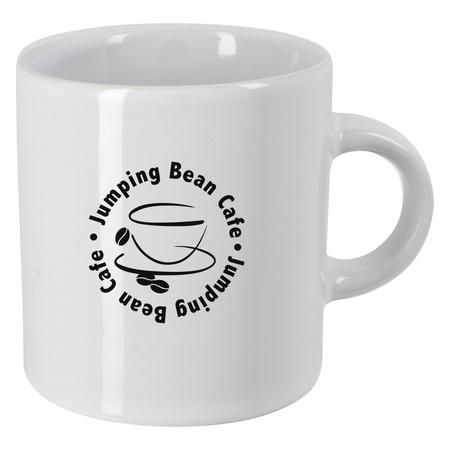 Custom 3 oz. Espresso Ceramic Cups