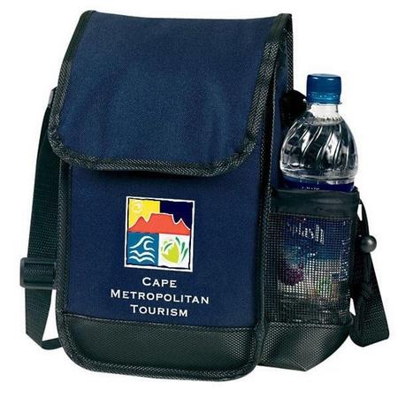 Custom Executive Lunch Bag & Bottle Holder