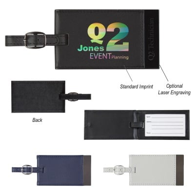 Executive Soft-Touch Luggage Tag