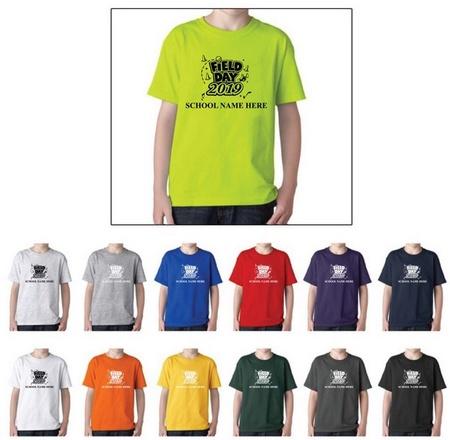 Field Day Cotton T-Shirts