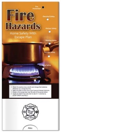 Fire Hazards & Escape Plan Pocket Slider