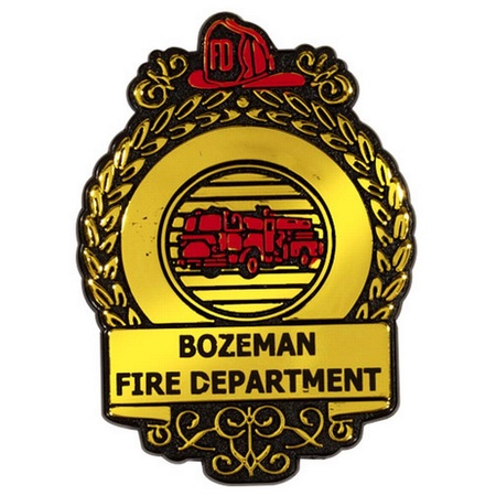 Custom Fire Safety Badges
