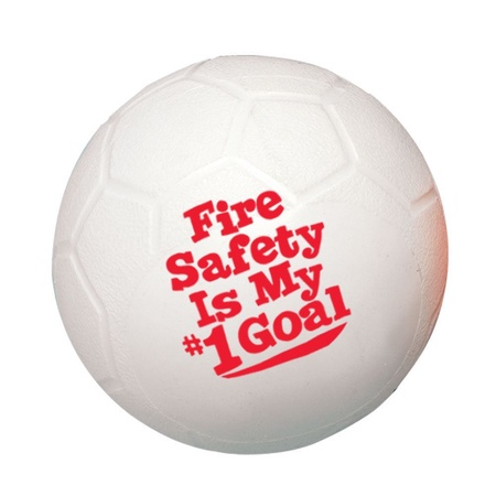Fire Safety Is My #1 Goal Mini Soccer Balls