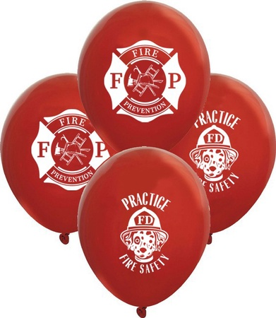 Fire Safety & Prevention Balloons