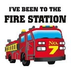 Fire Station Temporary Tattoo