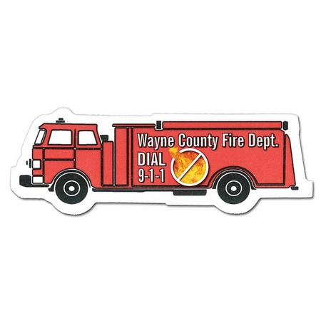 Customized Fire Truck Magnets