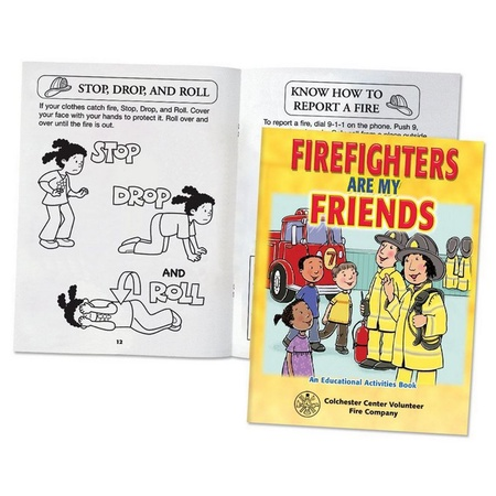 Imprinted Firefighters Are My Friends Activities Books
