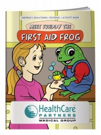 First Aid Coloring & Activity Book