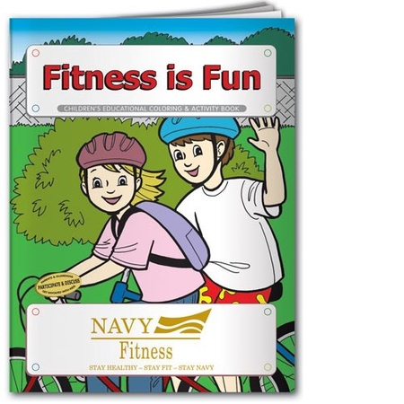 Fitness is Fun Coloring & Activity Book