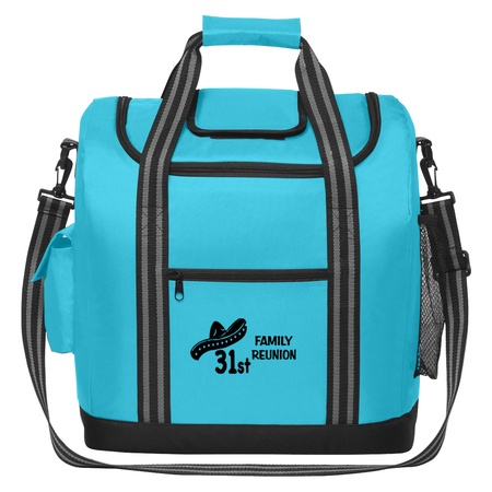 Custom Flip Flap Insulated Cooler Bags