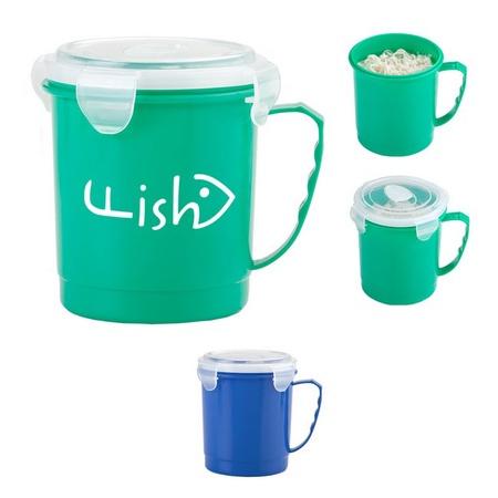 Custom 24 oz. Food Container Mugs