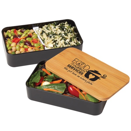 Food & Nutrition Services 2-Tier Bamboo Bento Box Gift
