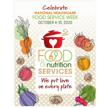 Food Service Week Celebration Posters
