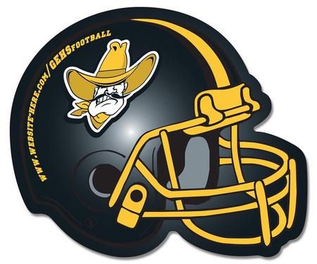 Custom Football Helmet Magnets