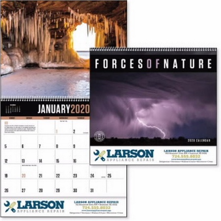 Forces of Nature Calendar - 2020