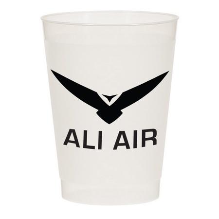 10 oz. Custom Frost Flex Cups