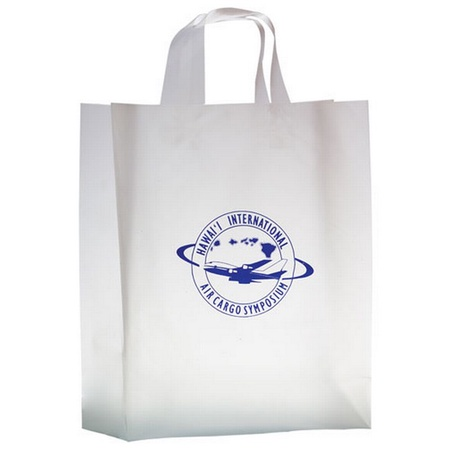 Frosted Die-Cut 13 x 5 x 16 Personalized Bags