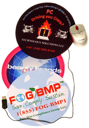 Full Color Round Mouse Pads
