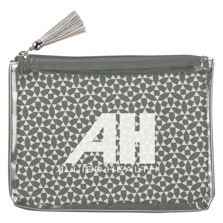 Geometric Promotional Cosmetic Bags