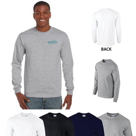 Gildan Adult Ultra Cotton Long Sleeve T-Shirts with Imprint