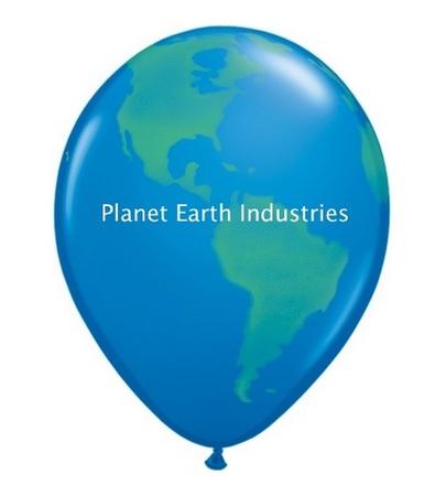 """Globe Balloon - 11"""""""
