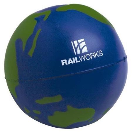 Custom Globe Stress Balls