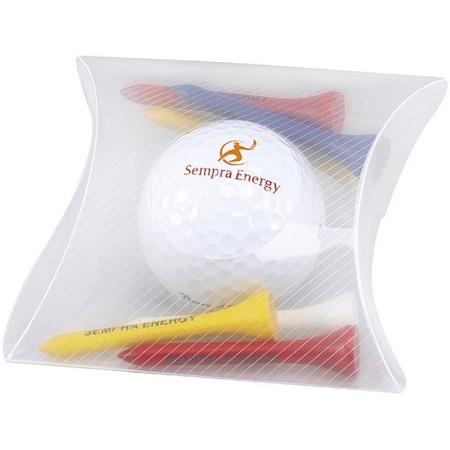 Golf Ball & Tees Pillow Pack