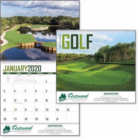 Golf Calendar - 2020