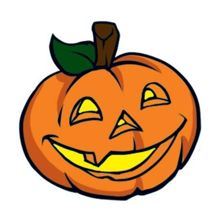 Halloween Pumpkin Temporary Tattoo