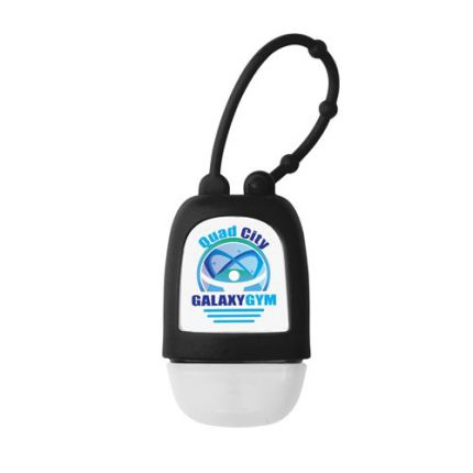 Hand Sanitizer Gel with Silicone Strap