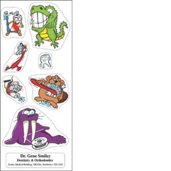 Happy Teeth Sticker Sheet