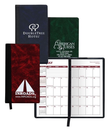 Hard Cover 2020-2021 Personalized Academic Pocket Planners