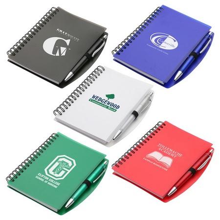 Custom Hardcover Notebook & Pen Set
