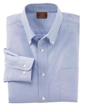 Harriton Men's Oxford Dress Shirt