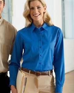 Harriton Women's Millenium Twill Shirt
